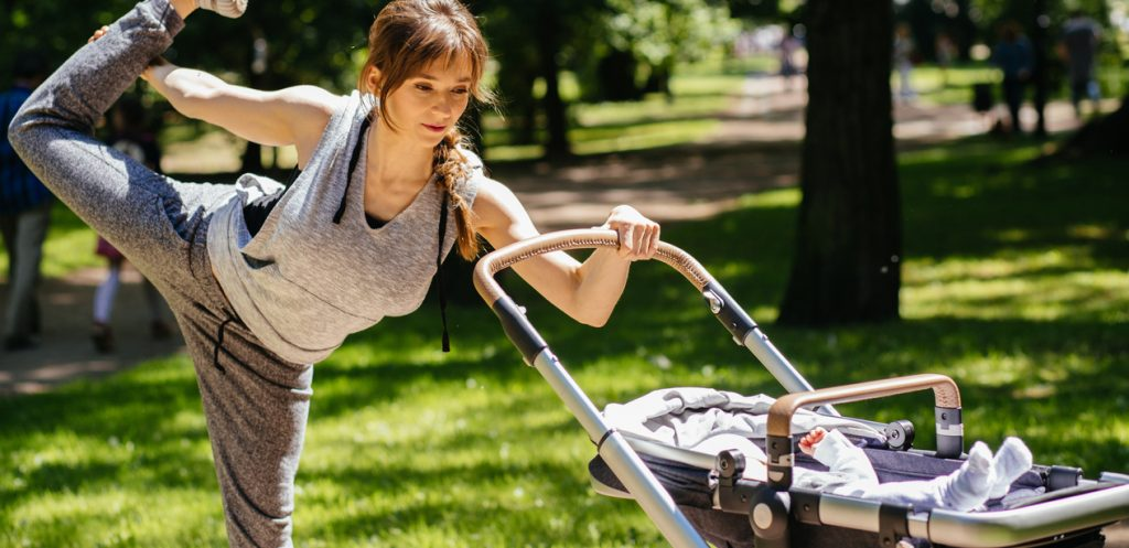 Workout With Your Baby And Stroller