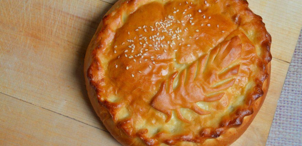 طريقة عمل كيكة الزعتر الأخضر والجبن