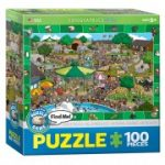 EuroGraphics Toys - Spot & Find a Day In The Zoo Puzzle