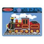 Melissa & Doug Train Sound Puzzle (9 Pieces)