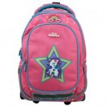Smily Kiddos - Unicorn Fancy Trolley Bag - Pink