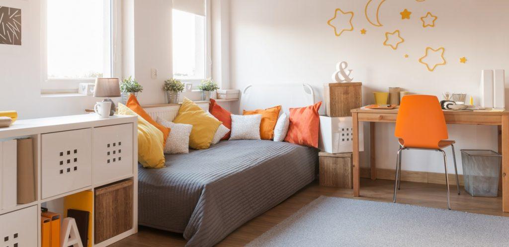 أفكار من أجل ترتيب غرفة الدراسة والنوم في عمر المراهقة