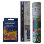 Staedtler - Noris Pencil + Colored Pencils + Wax Crayons