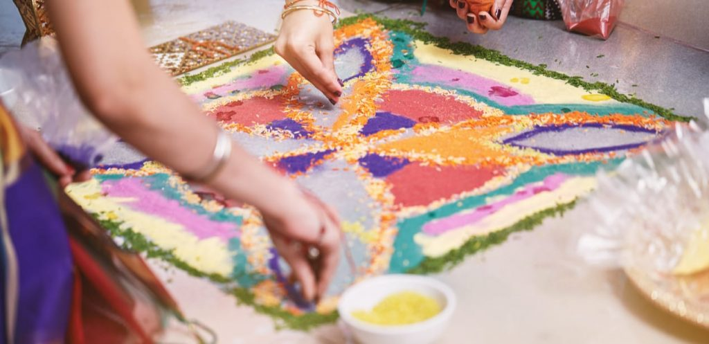 Arts and crafts for Diwali
