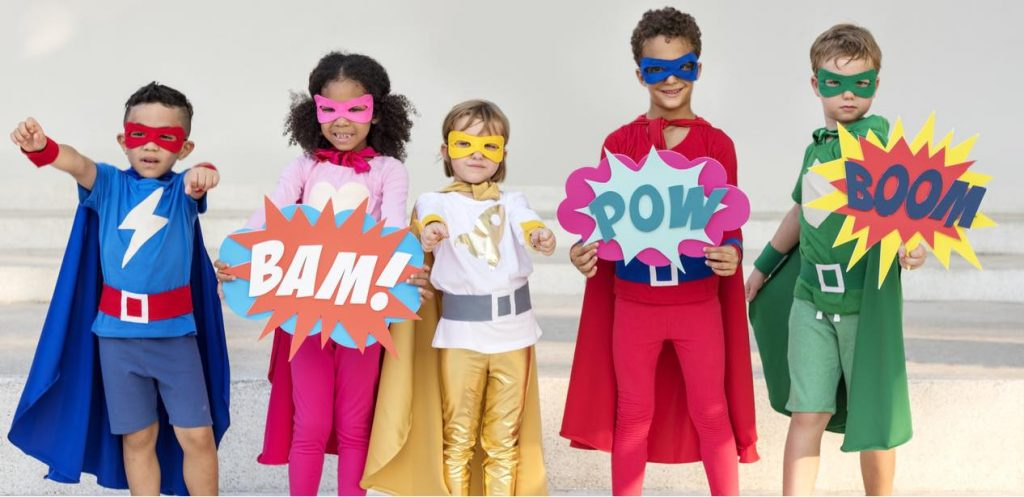 Our best Superhero costumes this Halloween!