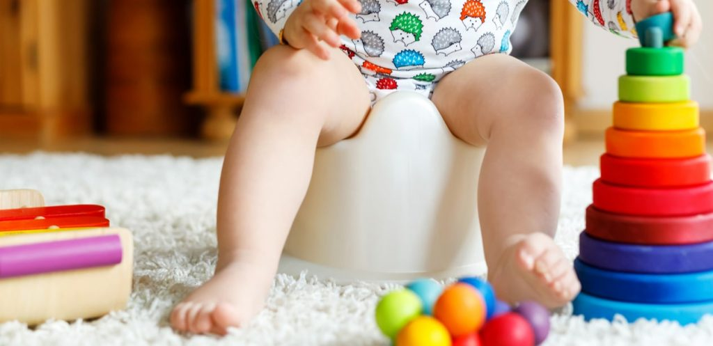 5 tips to help potty train your little one.