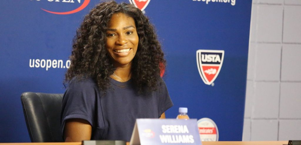 Mum crush of the week! Serena Williams