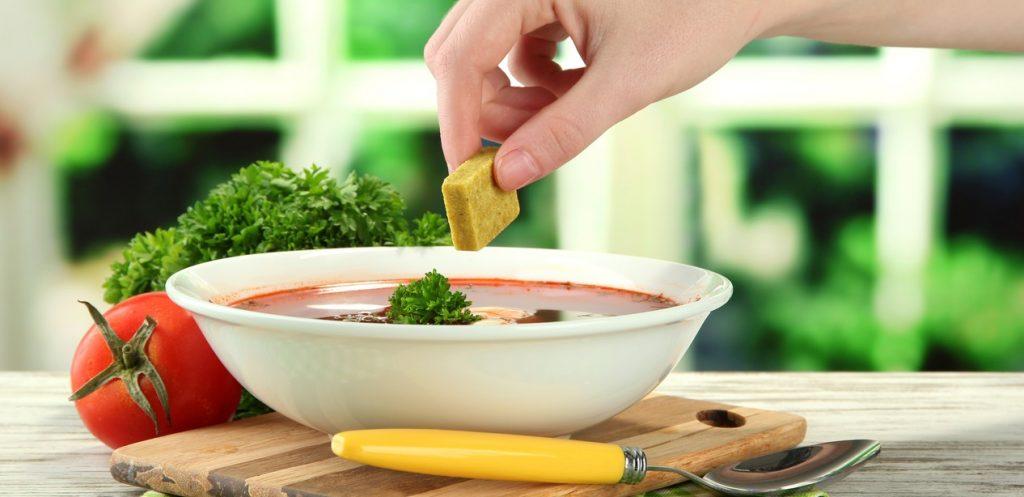 وصفة مكعبات الطبخ الصحية