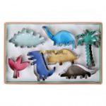 Meri Meri - Dinky Dino Cookie Cutters Pack of 7