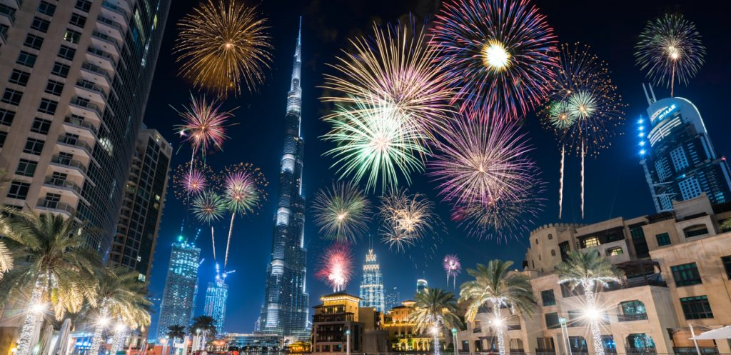 UAE New Year's Celebrations at Home