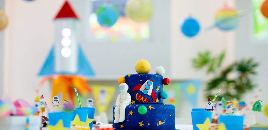 Throw a Birthday Party From Outer Space