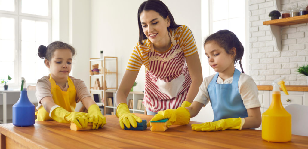 Use Chores to Build Up Your Kids' Sense of Responsibility